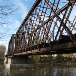 Bridge over Iowa River