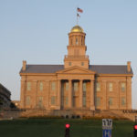 Old Capitol building at sunset