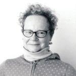 Black and white portrait of Emily Martin